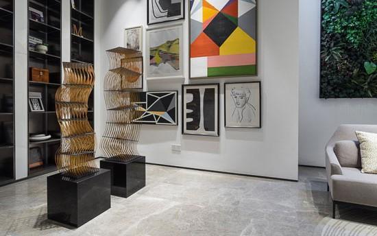18万改造出艺术范儿 两百平复式空间