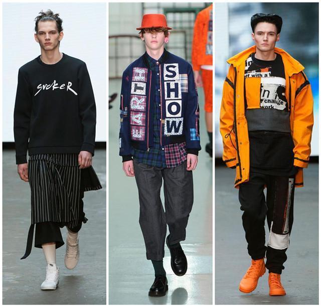 [摘要]2015年1月9日,伦敦男装周拉开帷幕,作为15年第一场盛大的时尚活动,你难道不关心吗?   伦敦时装周一直以怪诞的先锋设计闻名,1月9日举行的伦敦男装周抢先为2015年的秋冬流行趋势预演拉开帷幕,经典的英伦设计当中不乏年轻设计师的大胆创意,下面就一起来回顾一下这些天马行空的设计吧。   奢华皮草    以往冬天男士们若是穿上华丽丽的皮草大衣,难免会被解读为壕气十足的爆发大户,不过这样的尴尬局面却在14秋冬的男装T台上得以洗牌,带着皮毛装饰甚至是整体式的皮草大衣成为了最In的秋冬单品,而这股奢华皮