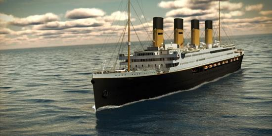 """2018首航 """"泰坦尼克""""将从中国重新出发"""