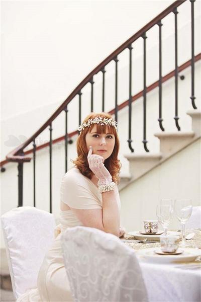 新娘配饰婚纱手套_新娘配饰之精美绝伦的婚纱手套-新娘必备精美绝伦的婚纱手套