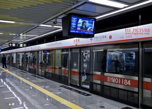 沈阳地铁2号线北延线空载试运行进入第二阶段