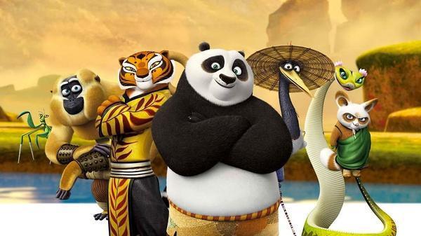 功夫熊猫3 杰克 布莱克 最后给阿宝配音