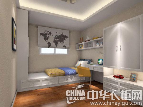 这样几平米的小户型卧室,不仅节省了空间还增加舒适度,给孩子图片