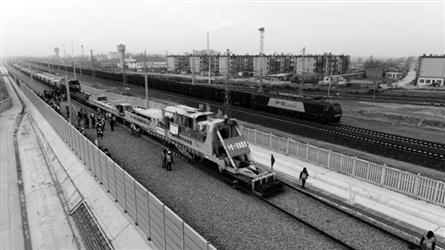 通辽至新民北高铁开始铺轨 沈阳至通辽仅1.5小时