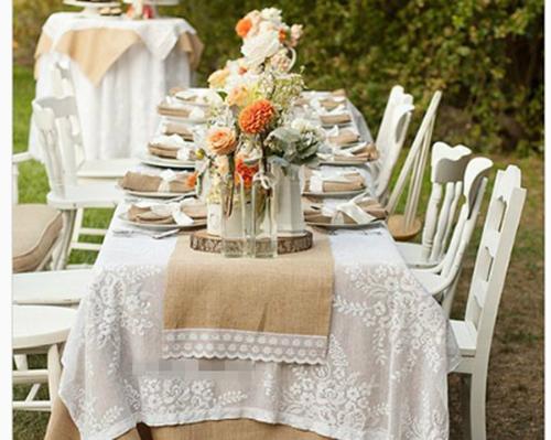风格婚礼的新人们准备的欧式婚礼现场布置需注意的图片