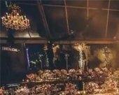 张靓颖婚礼欢迎晚宴曝光 鲜花簇拥奢华大气