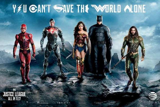 最强年底压轴!DC《正义联盟》抢先看 动作戏超爽