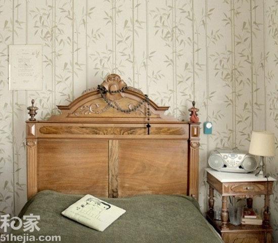"""废弃木板巧利用 10图卧室背景墙秀""""环保""""图片"""