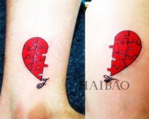 情侣纹身图片