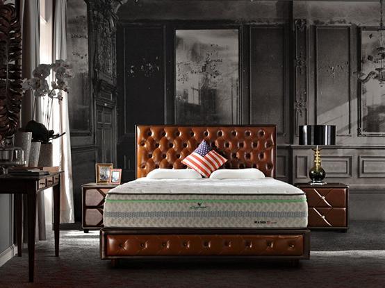 单面免翻床垫是什么原理_什么是棕垫床垫内部图