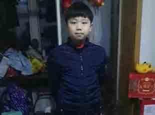 沈阳一名11岁男孩负气离家出走
