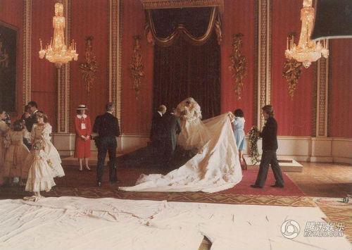 戴安娜王妃珍贵婚礼照