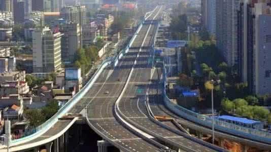 沈阳南北快速通道8月全线通车 正在拆除栈桥板