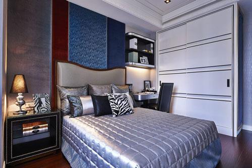 手绘线条图像画我的卧室