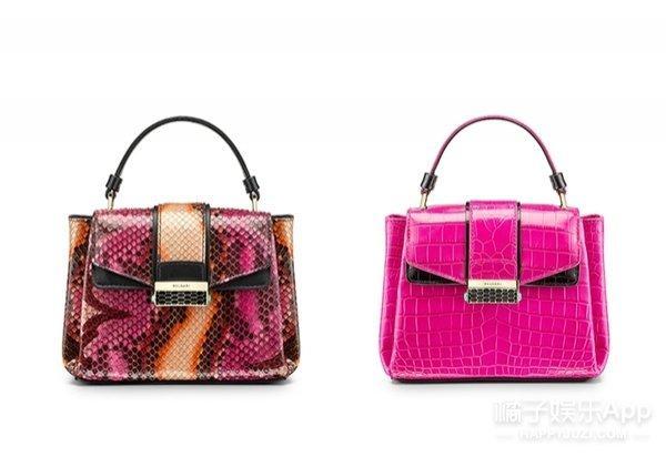 小 size 的包款搭配稀有的动物皮革,时髦的同时又极具复古摩登感.