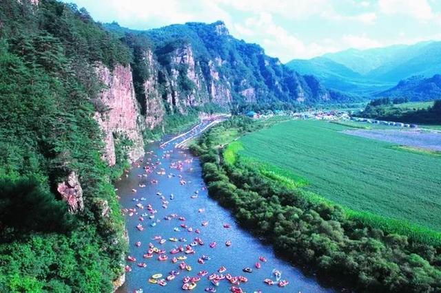 开往仙境的旅游列车 畅游本桓旅游观光带