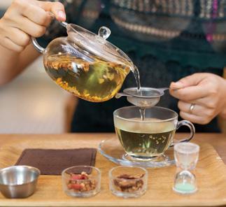 能让你品藏健康生茶 体验韩方水疗和化妆品的地方你知道么