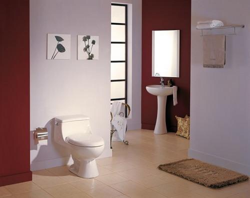冬季装出温暖舒适卫浴间