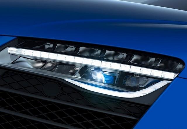 [海外车讯]奥迪R8特别版官图 配激光大灯