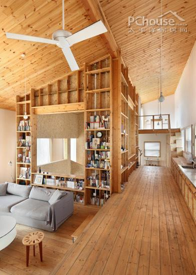 会呼吸的慢世界 具有度假气质的纯木房