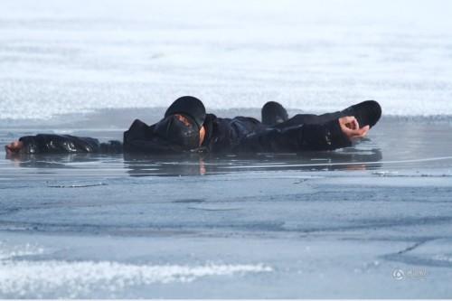 七旬老人不慎坠落冰窟 不幸丧命