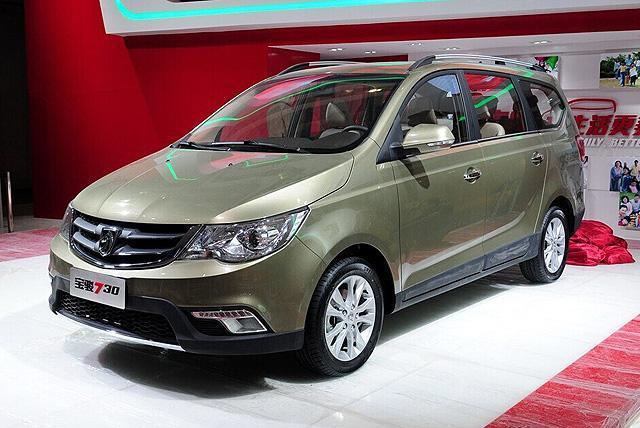 宝骏730预售7-9万元 上市将首推4款车型