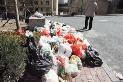 春节期间沈阳市浑南区调整增设130余个垃圾点
