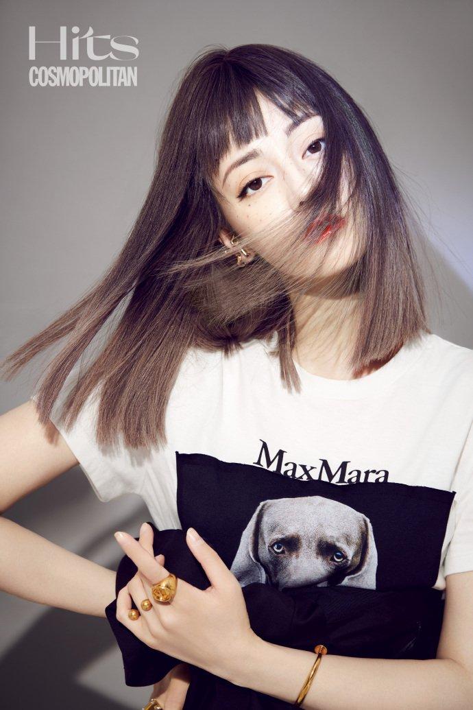 迪丽热巴最新封面造型甜飒酷炫 完美诠释一人千面