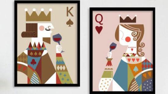 扑克牌JQK人物身份的历史原型图片