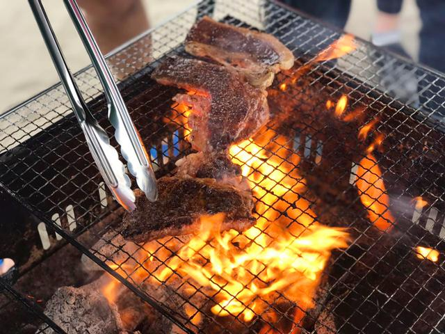 在石狩滨来一场BBQ吧