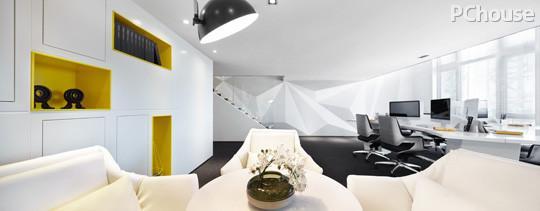 loft风简洁公寓 秒变国际化办公室图片