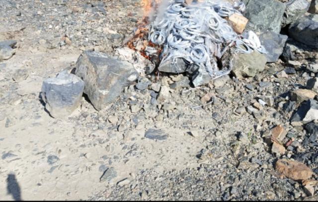 丹东振兴公安分局销毁5000余发雷管
