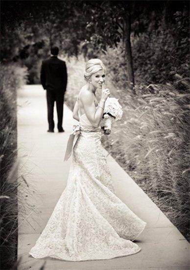 10个创意构思让婚纱照独一无二图片