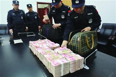 房地产老总家近195万现金被盗 警方70小时全部追回