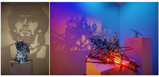 艺术家Rashad Alakbarov光影艺术于中国首展