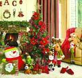 花红柳绿 玩转中国红圣诞绿