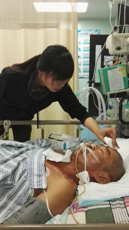 营口一老汉被女婿捅破双肺 家境困难不想继续医治