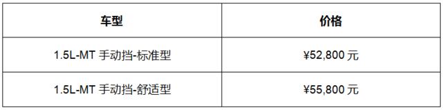 新五菱宏光S上市售价5.28-5.58万
