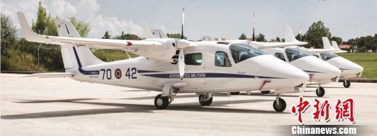 意大利泰克南P2006T飞机在沈阳法库量产