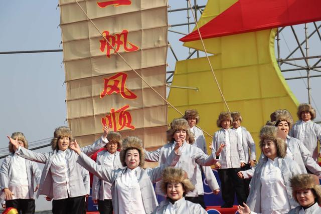 中国盘锦第三届二界沟开海节启幕 祭海祈福再现古渔雁文化魅力
