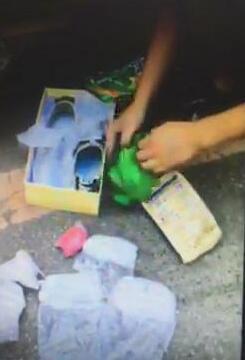 女子在布鞋内藏2.5千克冰毒 警方寻线抓获12人