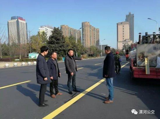 漯河要有公交专用道了 不想被罚就快来看看怎么走