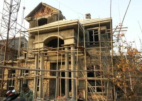 农村自建经济型别墅 每平造价竟只有1600元
