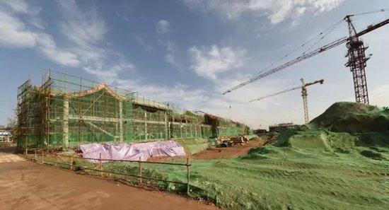 河洛古城最新工程进度播报