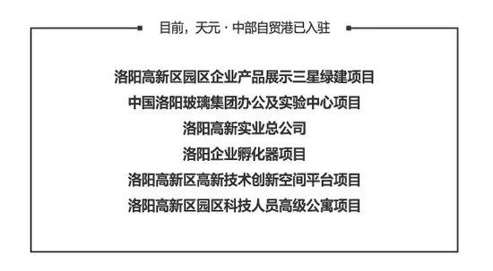 天元·中部自贸港 | 三区轴心,抢占洛阳财富金三角