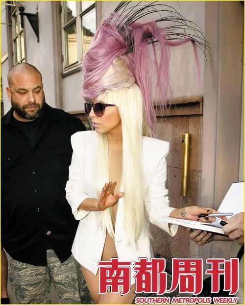 Gaga说,我可是真正的艺术家