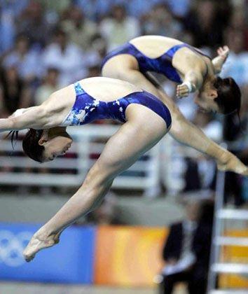 跳水 挑战极限的勇敢游戏