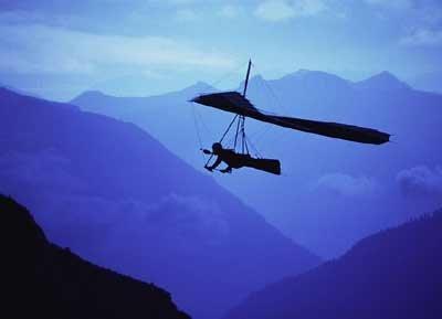 滑翔运动必需的器械装备