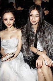 Angelababy和李小璐