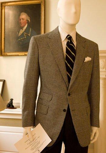 男士棕色西装搭配